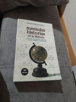 libro menudas historias de la historia