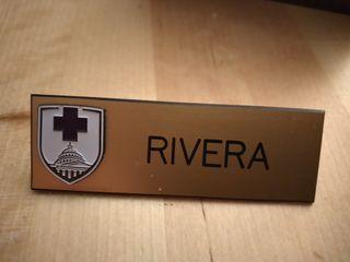 emblema de médicos