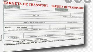 Targeta de transporte