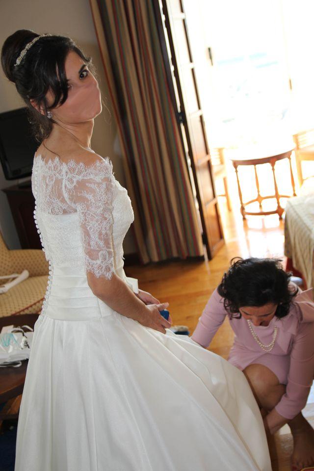 Vestido de novia talla 36 de El Corte Inglés