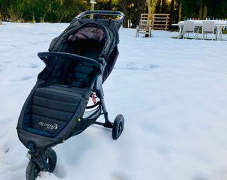 Carrito: Baby Jogger City Mini. Saco y funda
