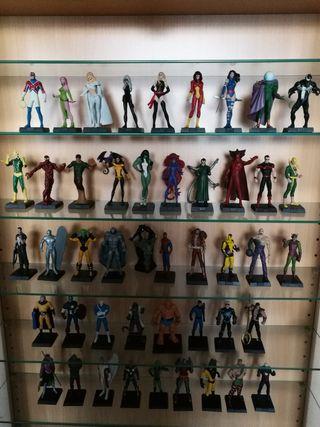 Figuras de superhéroes MARVEL de plomo