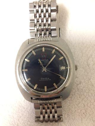 Reloj Omega Electronic F300HZ Genève Chronometer