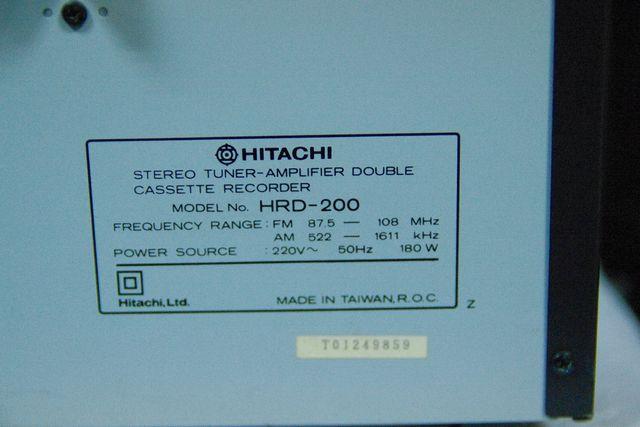 CADENA HITACHI HRD-200 (LEER BIEN EL ANUNCIO)