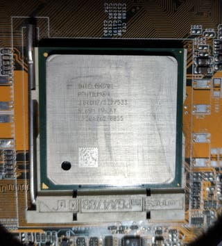 Placa base, CPU y disipador pc
