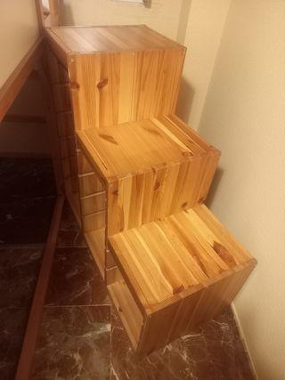 Escalera de almacenaje serie Trofast,de Ikea