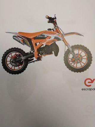 mini moto de gasolina de 49 CC nueva