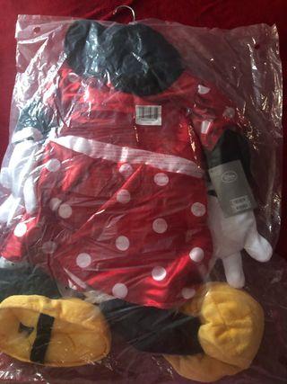 Disfraz Minnie Mouse Disney Store Nuevo,embaje