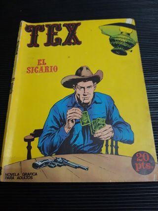 Tex 2 El sicario Novela gráfica adultos