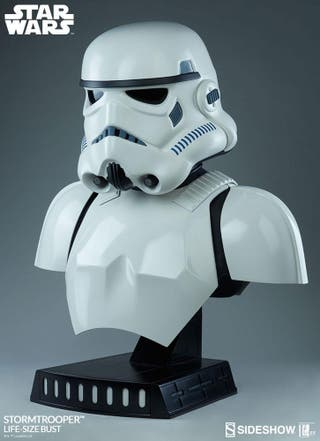 SIDESHOW BUSTO STORMTROOPER 1/1