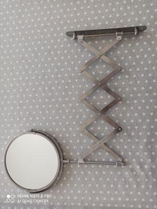 Espejo de aumento extensible pared
