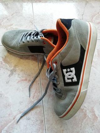 Bambas DC shoes color gris