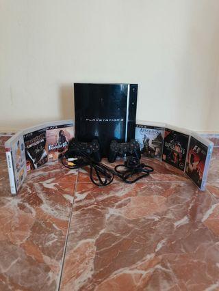 PS3 + Juegos. TODO 27€