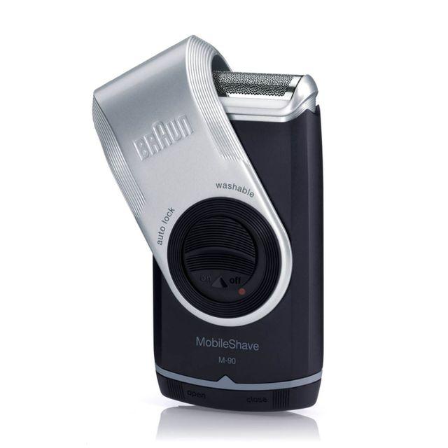 máquina de afeitar eléctrica braun m 90