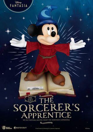 Fantasia Mickey aprendiz de brujo