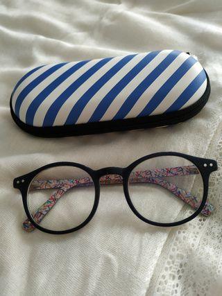 Gafas Mo redondas para graduar