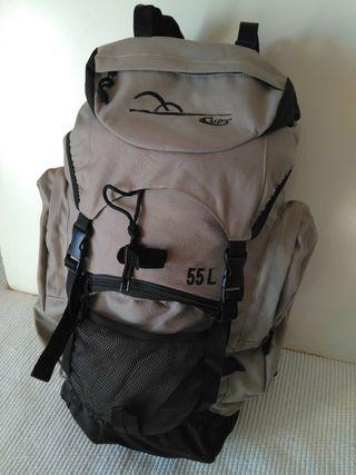 mochila adulto montañerismo 55 litros