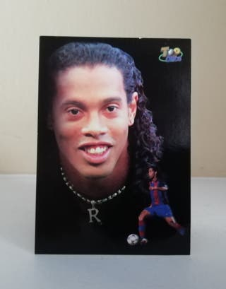 RONALDINHO #621 MUNDICROMO 2003/04 F. C. BARCELONA