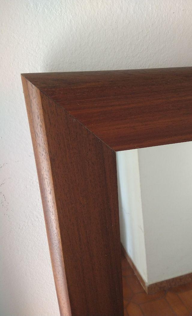 Espejo madera. MUDANZA.