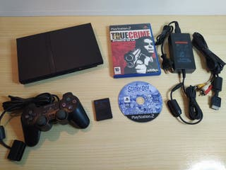 Playstation 2 Slim SCPH-70004 Completa
