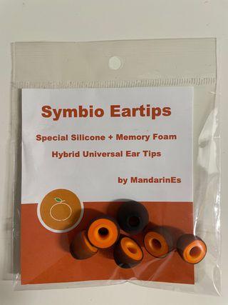 Symbio Eartips universales para cascos In ear