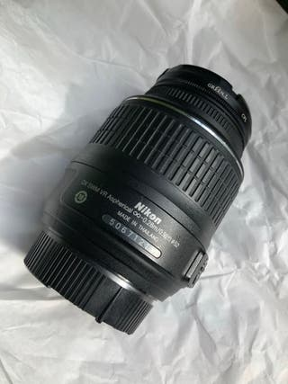 Objetivo Nikon 18-55