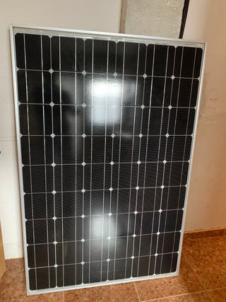 Placa solar 200W a 24 funciona perfectamente