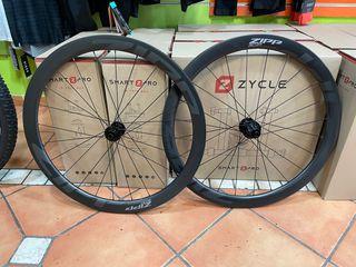 Juego de ruedas zipp 45 carbono disco