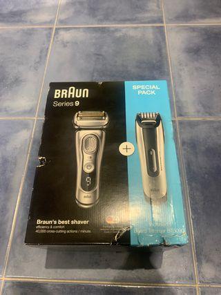 Afeitadora Braun 9350 con Recortadora BT 5090