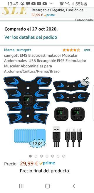 Electroestimulador músculos completamente nuevo