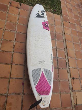 Tabla de surf 7'3 bic mini malibu