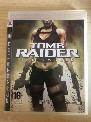 VIDEOJUEGO TOMB RAIDER UNDERWORLD PARA PS3