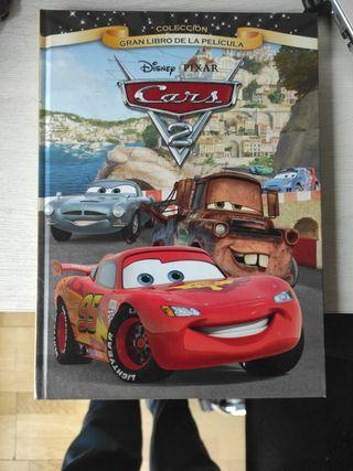 Colección Gran Libro de la película Cars 2.