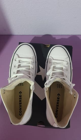 Converse Chuck Taylor All Star Platform Leather