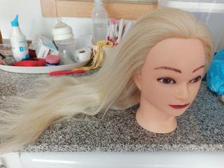 Maniquí prácticas peluquería (utilizada)