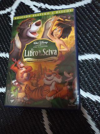Película El libro de la Selva Edición Platino