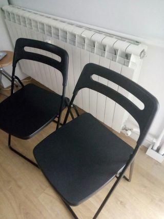 Sillas plegables Ikea Nisse