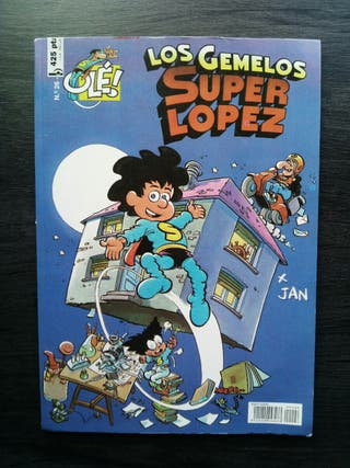 "Comic ""Los gemelos Superlópez"""