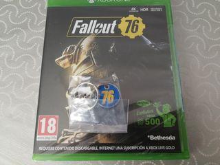 Fallout 76 y llavero Xbox One (precintado)