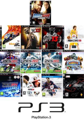 LOTE 13 VIDEOJUEGOS PS3