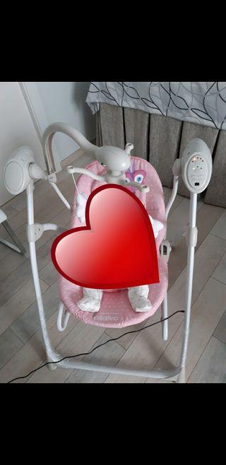 Columpio eléctrico para bebé