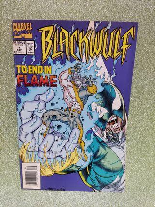 CÓMIC - BLACKWULF TO END IN FLAME