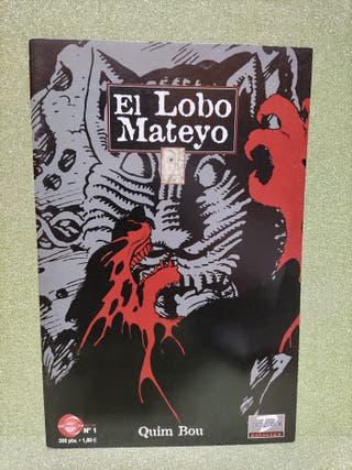 CÓMIC - EL LOBO MATEYO