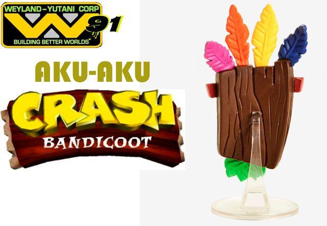 Figura Funko POP AKU AKU Crash Bandicoot