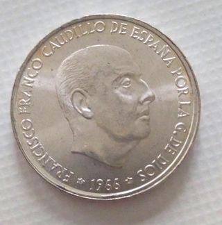 Moneda plata franco 1966