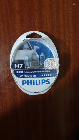 Bombillas H7 Philips Intense white xenon effect