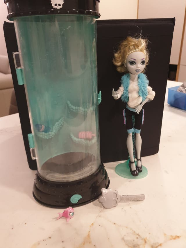muñeca Monster High Lagoon blue