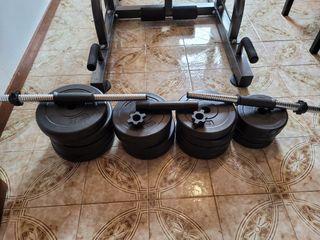 juego de ejercicio en casa