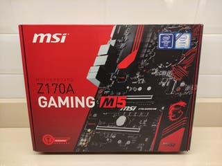 PLACA BASE - MSI Z170A GAMING M5 - SOCKET 1151