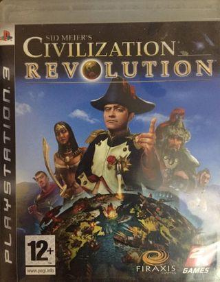 Videojuego PS3 Civilization Revolution